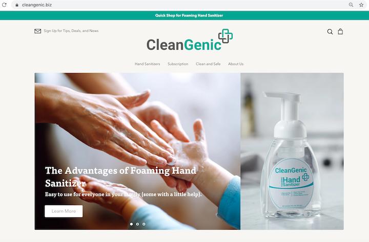 Recent Work: CleanGenic